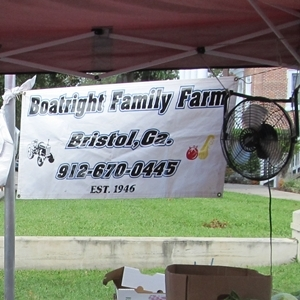 Boatright Family Farm Banner