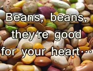 Fresh, garden beans
