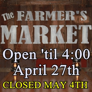 Farmers Market Open Later for Parade