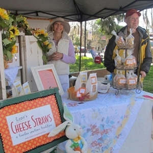 Happy Exhibitors at the Fernandina farmers market