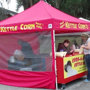 March Kettle Korn at Farmers Market