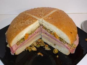 Muffuletta Sandwich Recipe from Jays Marketplace
