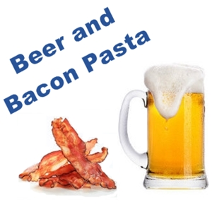 Beer and Bacon Pasta
