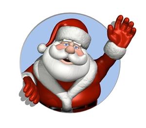 Find Santa Claus in Fernandina Beach